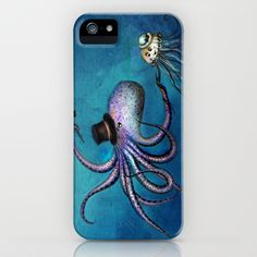 Underwater Love // octopus jellyfish iPhone & iPod Case by Anna Shell - $35.00