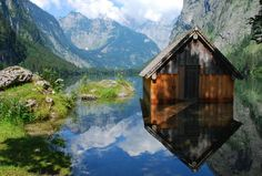glassy water // obersee, germany