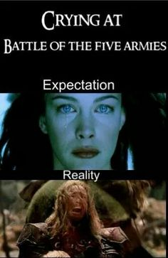 This was so me when battle of the five armies started and finished...No more movies to watch