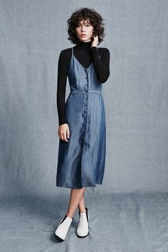 Kimchi Blue Denim Midi Dress available for $79.00