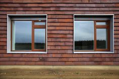 1960s House, Clay Tiles, Brickwork, Cladding, New Homes, Exterior, Windows, Extensions, Cabin Ideas