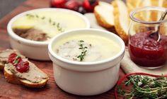 Vánoční kuřecí paštika Cheeseburger Chowder, Fondue, Soup, Ethnic Recipes, Soups
