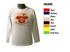 Segui le storie di MARINA che trovi sulle varie t-shirt di CoccoBABY. (Illustrazioni di DENNI NERI) http://www.coccobaby.com/prodotto/articoli-bimba/maglie-anallergiche/955/t-shirt-paricollo-ml-marina-idea-geniale