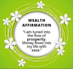 Wealth affirmation  http://www.jointalkfusionnow.com