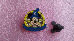 pin broche disney WDW - 2012 Mickey caché Série - Compass Collection - Sorcier Mickey