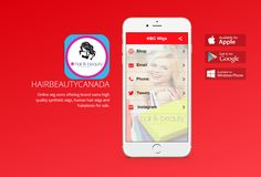 Hair and Beauty Canada Wig Store Shopping App