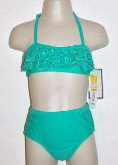 8a91dff31f8c4 Koala Kids Baby Girls Green Two Piece Bikini Swimsuit Swimwear 18M 24M   KoalaKids  TwoPiece