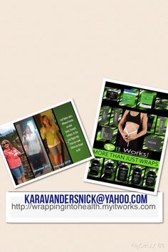It Works! Http://wrappingintohealth.myitworks.com