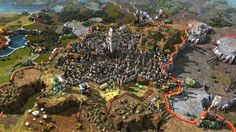 Hello everyone, I'm a artist working at Amplitude Studios, and I wanted to share with you my work on Endless Legend. 3d Artist, Artist At Work, Military Art, Goblin, Hello Everyone, Civilization, City Photo, Video Games, Fantasy
