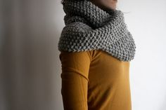 seed stitch cowl || planning one of these for next winter #crochet #craft #wool