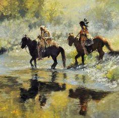 Fine Art Western Oil Paintings by C. Michael Dudash