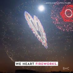 Who doesn't love a video full of fireworks in action?!
