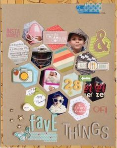 28 fave things by corinne at Studio Calico #scrapbooking #inspiration