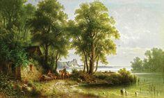 пейзажи озер и прудов в живописи масло: 20 тыс изображений найдено в Яндекс.Картинках