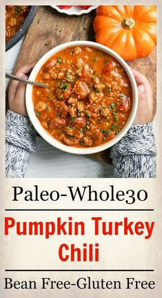 This Paleo Pumpkin Chili and Spider Hot Dogs are two individual meals that both kids and adults will love. The chili is compliant and the hot dogs are a fun paleo treat. This post Paleo Whole 30, Whole 30 Recipes, Whole Food Recipes, Healthy Recipes, Paleo Meals, Paleo Pumpkin Recipes, Healthy Foods, Yummy Recipes, Free Recipes