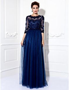 bbb5625be40c TS Couture Formal Evening   Prom   Military Ball Dress - Dark Navy Plus  Sizes