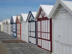 cabines de Cayeux sur mer