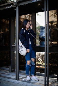 On the street... Jungyi Han Busan ~ echeveau