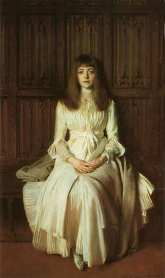 """""""Miss Elsie Palmer"""" (1889) John Singer Sargent"""