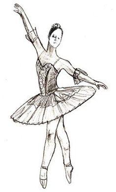 Auf folgender Seite erkenne Sie, wie kann man selber ganz einfach und schnell eine Ballerina zeichnen Schritt für Schritt. Die Anleitung ist auch dabei.