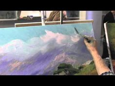 Artist Igor Sakharov, master class oil painting - YouTube