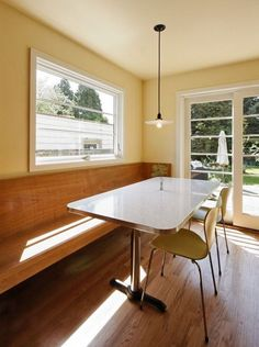 modern kitchen booth | modern booth, table and chair