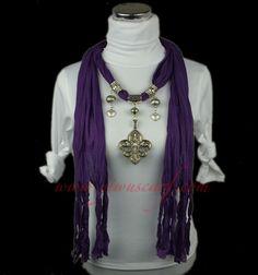 Bufanda de moda online colgante bufanda, decoración de joyas bufandas - spanish.alibaba.com
