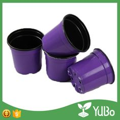 Hot Sale Custom Size Colorful Plastic Flower Pots with Holes For Plants Nursery Wholesale Nursery, Plastic Flower Pots, Plant Nursery, Potted Plants, Garden Pots, Office Decor, Planting Flowers, Home And Garden, Colorful