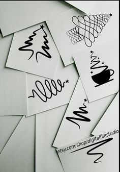 Sharing an #etsy shop listing: Christams Tree SVG Bundle, Swirly, Ribbon, Abstract, Coffee Cup, Calligraphy Designs, svg, png, dxf pdf design vector http://etsy.me/2i3AJIl #svg #dxf #png #scalable #christmas #tree #bundle #vector #designs #forgirls #forguys #illustration
