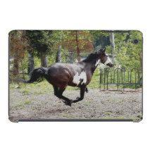 Galloping Pinto Horse iPad Mini Cover