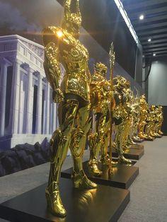 Foto: Ya se viene la presentación de las 12 armaduras doradas, solo en japón