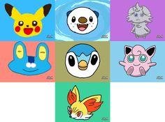 Pokemon Art Academy Compilation 1 by Rebeccachu-Chan.deviantart.com on @DeviantArt