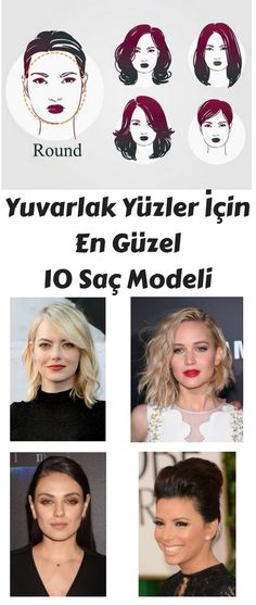 Yuvarlak yüz hatlarına sahip kişiler yüzlerini daha uzun göstermek için bu modelleri deneyebilirler.