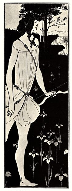 Atalanta in Calydon - by Aubrey Vincent Beardsley (21 August 1872 – 16 March 1898)
