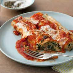 Lasagna Rolls By Giada De Laurentiis