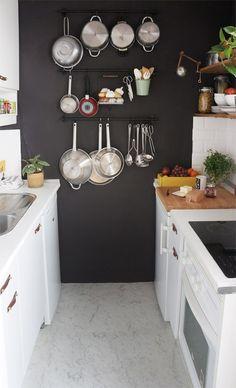 Antes y después de nuestra pequeña cocina: renovar la cocina sin obras | Decoración