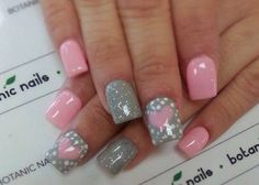 Love! Grey and baby pink :)