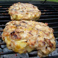 BBQ CHeesy Apple PIe CHicken Burgers