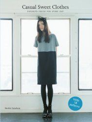 Book Review – Casual Sweet Clothes » Japanese Sewing, Pattern, Craft Books and Fabrics
