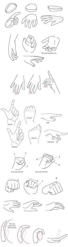 Human Anatomy Fundamentals: How to Draw Hands - Part 1/2 http://design.tutsplus.com/tutorials/human-anatomy-fundamentals-how-to-draw-hands--cms-21440