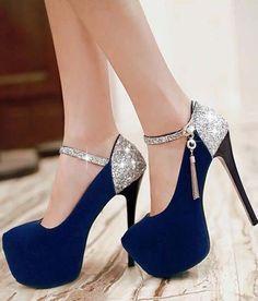 Sexy Ultra-High Sequins High-Heel shoes