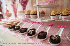 Party dessert ideas/inspiration: Appetizer Spoons!