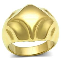 Mounted Dome No Stone Gold Ep Ladies Cocktail Ring