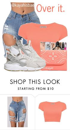 """Just something👐🏾"" by kayahisbae ❤ liked on Polyvore featuring NIKE"