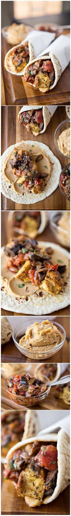 Spiced Moroccan Chicken Wrap