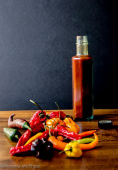 Homemade roasted chilli sauce recipe