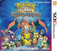 Title: Pokemon Super Mystery Dungeon (Nintendo 3DS)   Pokemon Super Mystery Dungeon 3DS. In the Pokemon Super Mystery Dungeon game the player will be transformed into one of 20 Pok mon as they set out on an adventure in a world inhabited solely by the 720 discovered Pokemon. This game boasts hours of replay-ability as each dungeon is randomly generated so you'll never explore the same dungeon twice as you unravel this tale of adventure and mystery...CLICK THE PICTURE FOR M