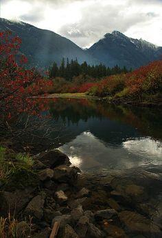 Sumallo River in Manning Provincial Park, B.C, Canada