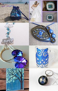 Blue!! by MARIA on Etsy--Pinned with TreasuryPin.com
