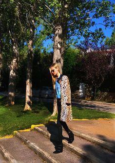 Leopard calling
